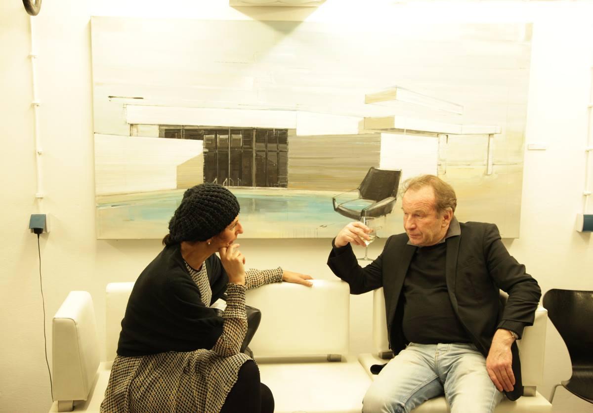 Picture of Vernissage Galerie Cornelia Walter